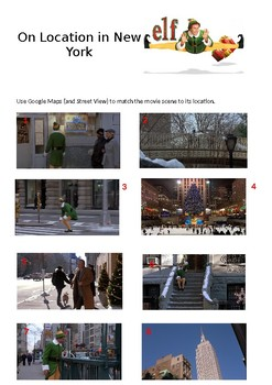 Elf: On Location in New York
