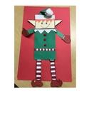 Elf Paper Bag Puppet and Poem