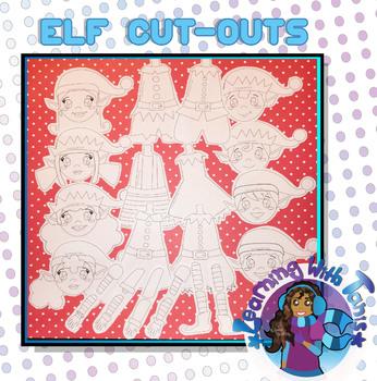 Elf Paper Cut-Outs