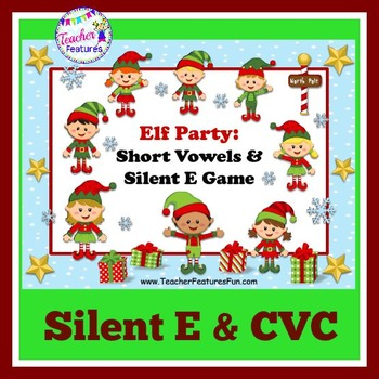 Elf Literacy Games: Silent E and Short Vowels