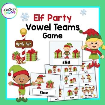 Santa's Workshop Elf Game SILENT E & SHORT VOWELS