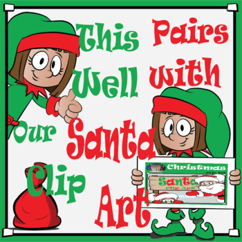 Elf Patty Clipart