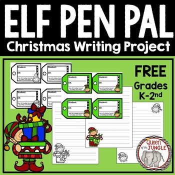 Christmas Writing Activity: Elf Writing
