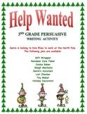 Elf  Persuarive Writing