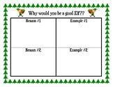 Elf Persuasive Writing Organizer