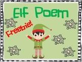Elf Poem Freebie