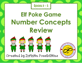Elf Poke - Number Concept Definitions Review