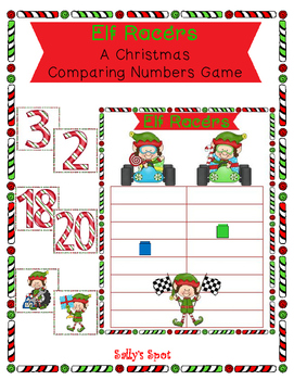 Elf Racers -  A Christmas Comparing Numbers Game