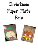 Elf & Reindeer Paper Plate Pals