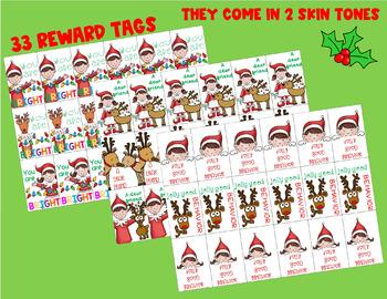 Elf Reward Tags