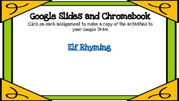 Elf Rhyming-A Digital Literacy Center