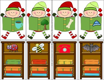 Elf Rhyming Fun!  Center Activity PLUS Printable!  CC Aligned!