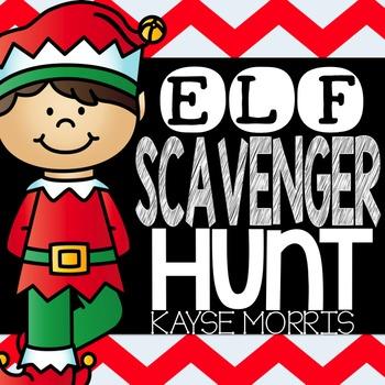Elf Scavenger Hunt