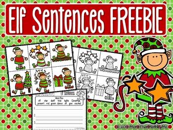 Elf Sentences FREEBIE