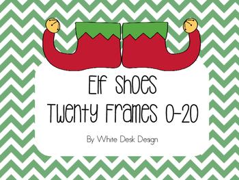Elf Shoe Twenty Frame Matching Game!