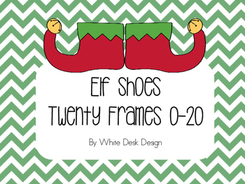 Elf Shoe Twenty Frame Matching Game!