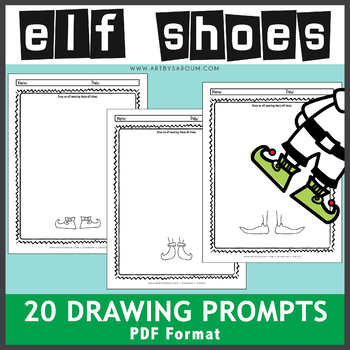 Elf Shoes Drawing Prompts