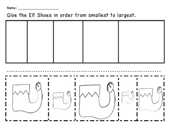 Elf Shoes - From Smallest to Largest