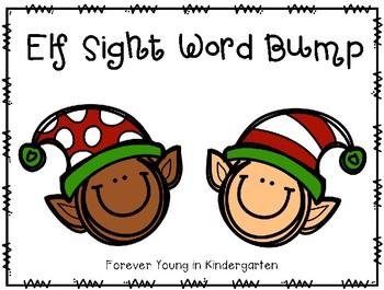 Elf Sight Word Bump