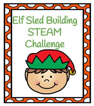 Elf Sled Building STEAM  Challenge