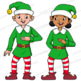 Elf Sol-fa Clip Art | Kodaly | Curwen Handsigns for Christmas