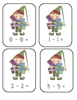 Elf Subtraction (0-20)