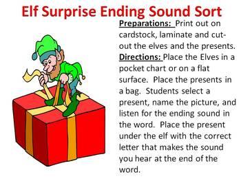 Elf Surprise - A Christmas Ending Sound Sort