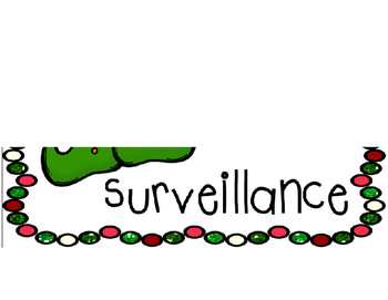 Elf Surveillance Lightbox Sign