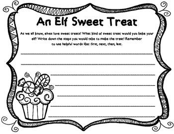 Elf Sweet Treat - Steps in a Process
