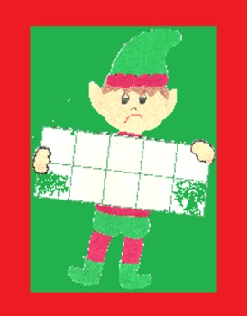 Elf Ten Frame and Numeral Matching Activities