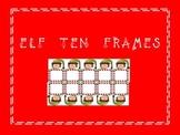 Elf Ten Frames