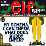 """""""ELF"""" THE MOVIE, INFERENCE SKILLS ACTIVITIES, VIDEO CLIPS,"""