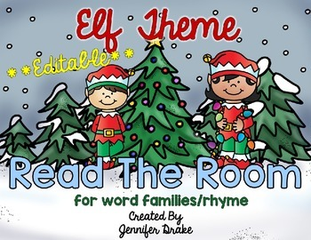 Elf Theme Read the Room **EDITABLE**
