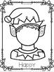 Elf Themed Feeling Faces Play Dough Mats