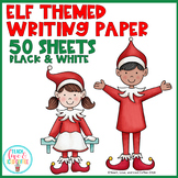 Elf Themed Writing Paper