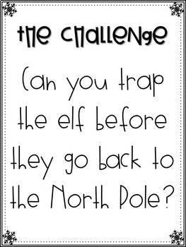 Elf Trap - Christmas STEM Activity