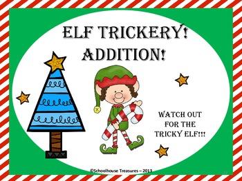 Elf Trickery - 5 Math Games!