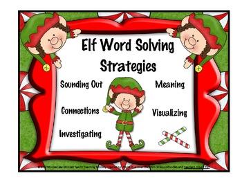 Elf Word Solving Strategies / Christmas