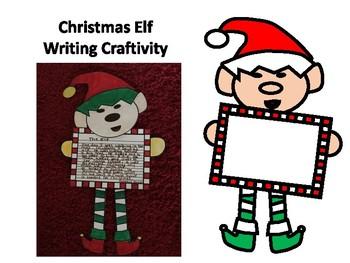 Elf Writing Craftivity