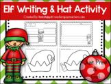 Elf Writing & Elf Hat Activity- Print & Go! Headband strip