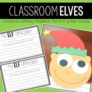 Kindness Elf Writing Packet