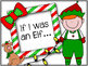 Elf Writing Prompt. Bulletin Board Set.If I was an Elf. As