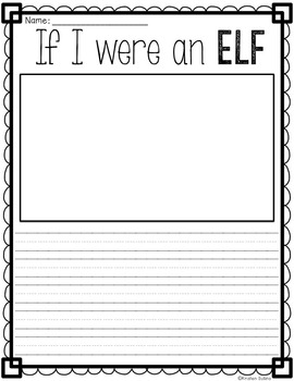 Elf Writing Webs and Drafts