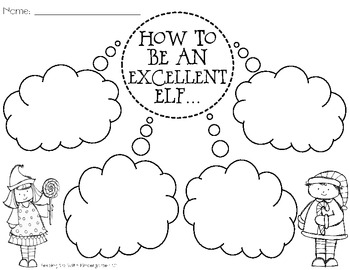 Elf Yourself! {A Glyph and Craftivity Pack}