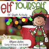 Elf Yourself: Christmas Elf Glyph Activity