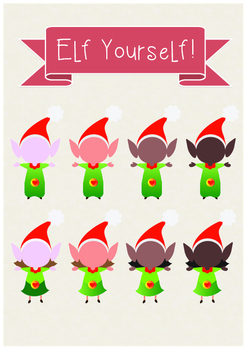 This is a picture of Ambitious Elf Yourself Printable
