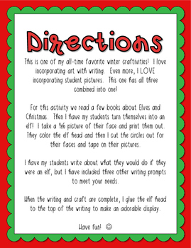 Elf Yourself Writing Craft