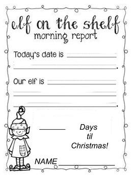 Elf daily report
