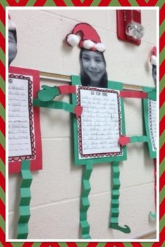 Elf for Hire! {A Persuasive Writing Craftivity}