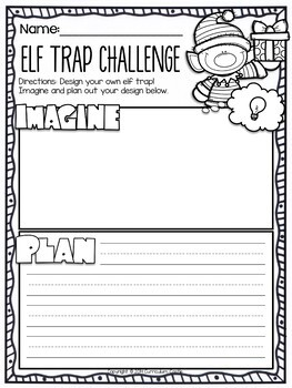 Classroom Elf Activities & Printables!